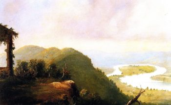 The Oxbow | Frederic Edwin Church | oil painting