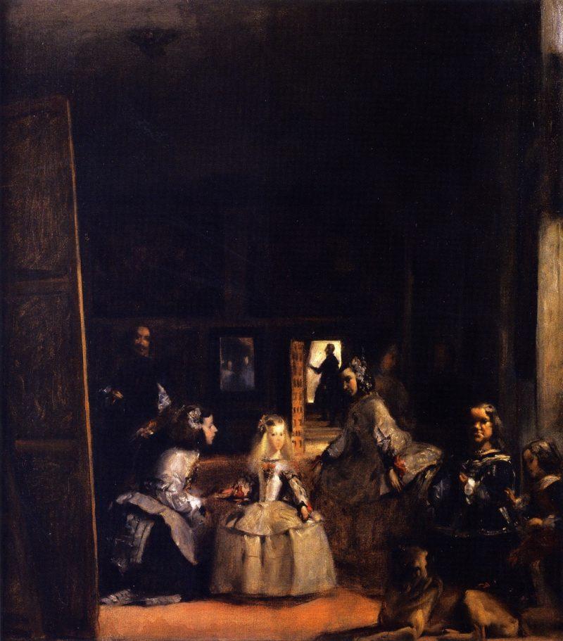Las Meninas | John Singer Sargent | oil painting