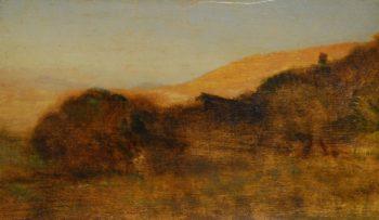 Campagna vesuviana | Giuseppe de Nittis | oil painting