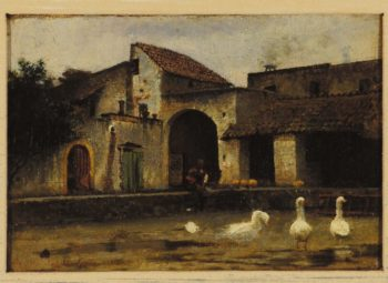 Casolare | Giuseppe de Nittis | oil painting