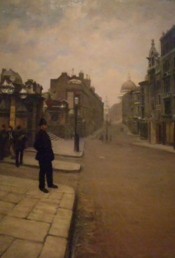 La domenica a Londra | Giuseppe de Nittis | oil painting