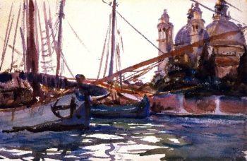 The Giudecca Venice | John Singer Sargent | oil painting