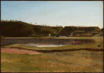 Paesaggio ofantino | Giuseppe de Nittis | oil painting