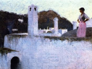 View of Capri | John Singer Sargent | oil painting
