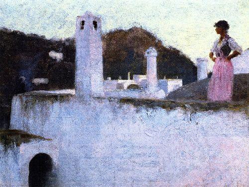 View of Capri | John Singer Sargent | oil painting