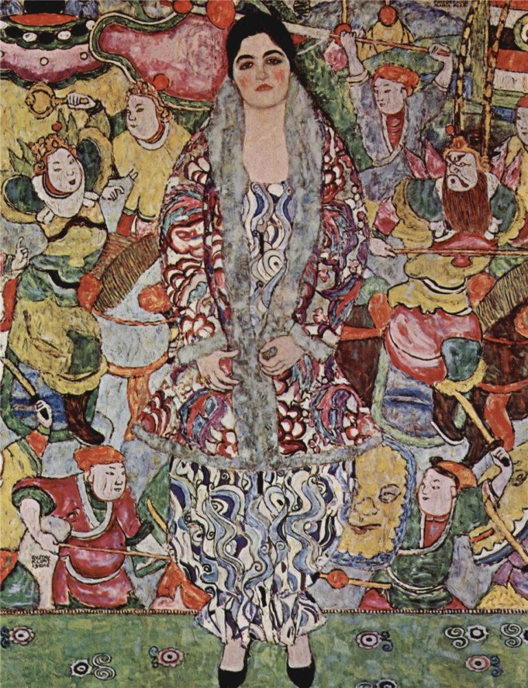Fredericke Maria Beer   Gustav Klimt   oil painting