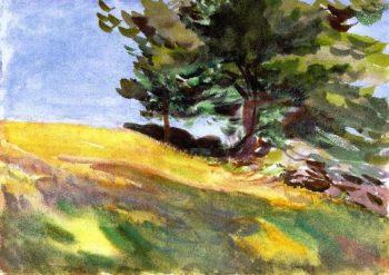 Near June Street | John Singer Sargent | oil painting