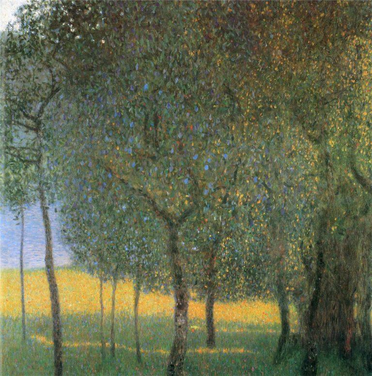 Fruit Trees | Gustav Klimt | oil painting