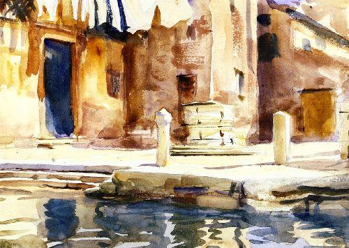 Campo San Boldo | John Singer Sargent | oil painting