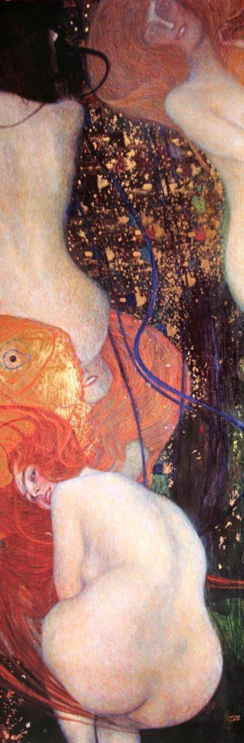 Goldfish | Gustav Klimt | oil painting