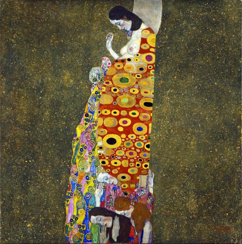 Hope | Gustav Klimt | oil painting