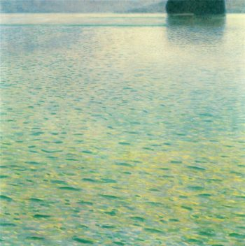 Island in the Attersee | Gustav Klimt | oil painting