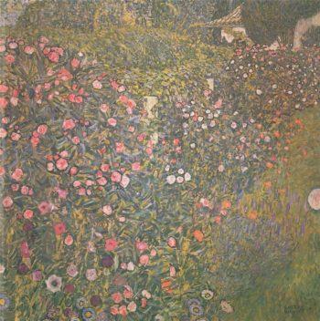 Italian garden landscape | Gustav Klimt | oil painting