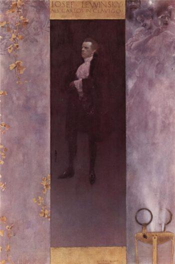 Josef Lewinsky | Gustav Klimt | oil painting