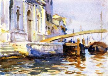 The Zattere Venice | John Singer Sargent | oil painting