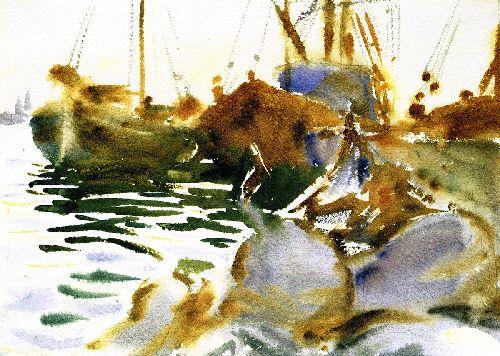 Venice Sunset | John Singer Sargent | oil painting