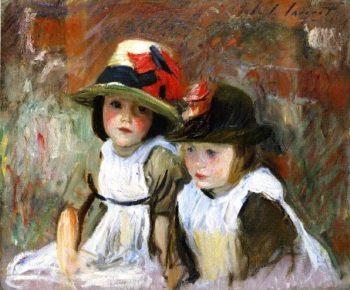 The Village Children | John Singer Sargent | oil painting