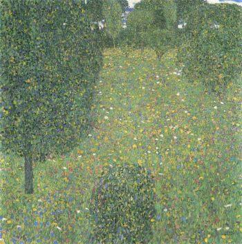 Landscape Garden | Gustav Klimt | oil painting