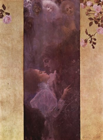 Love | Gustav Klimt | oil painting