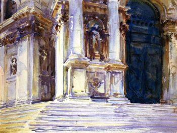 Venice La Salute | John Singer Sargent | oil painting