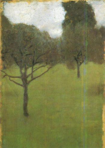 Orchard   Gustav Klimt   oil painting