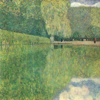 Park of Schonbrunn   Gustav Klimt   oil painting