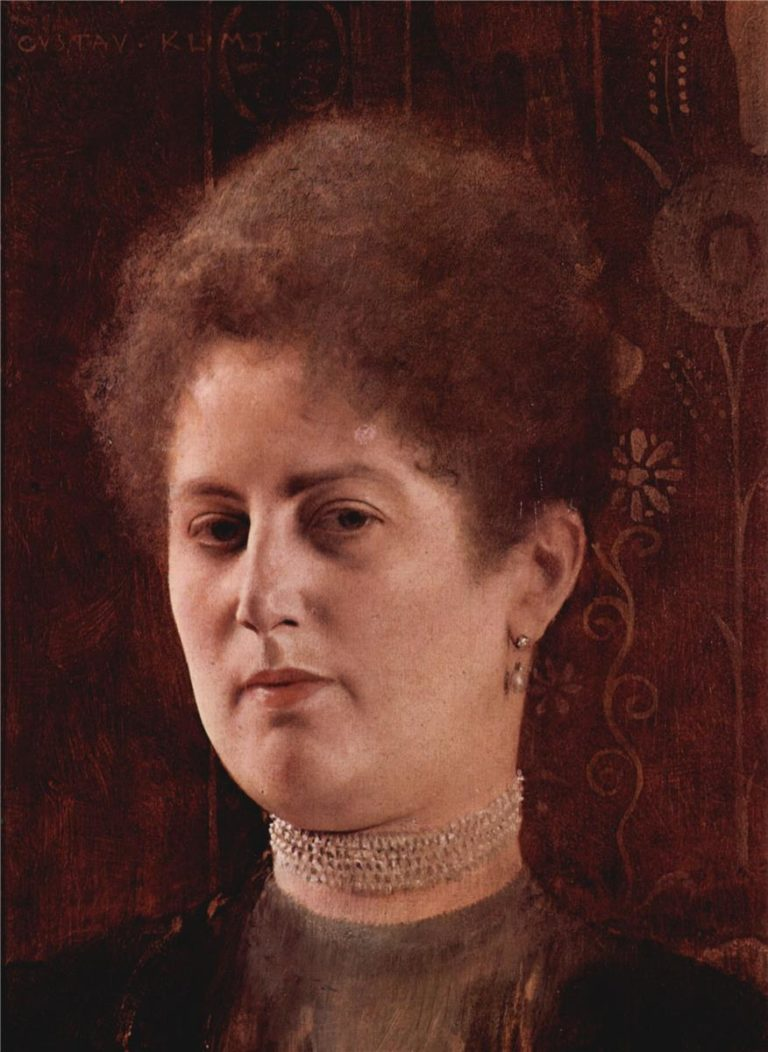Portrait of a lady 1 | Gustav Klimt | oil painting