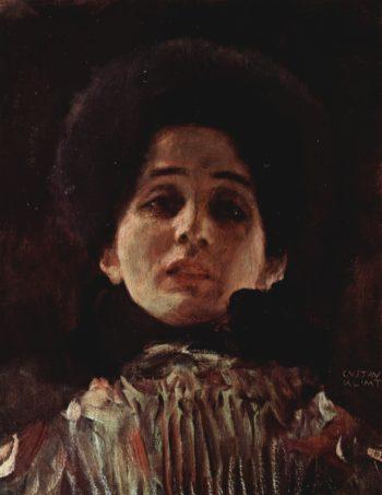 Portrait of a Lady 2   Gustav Klimt   oil painting