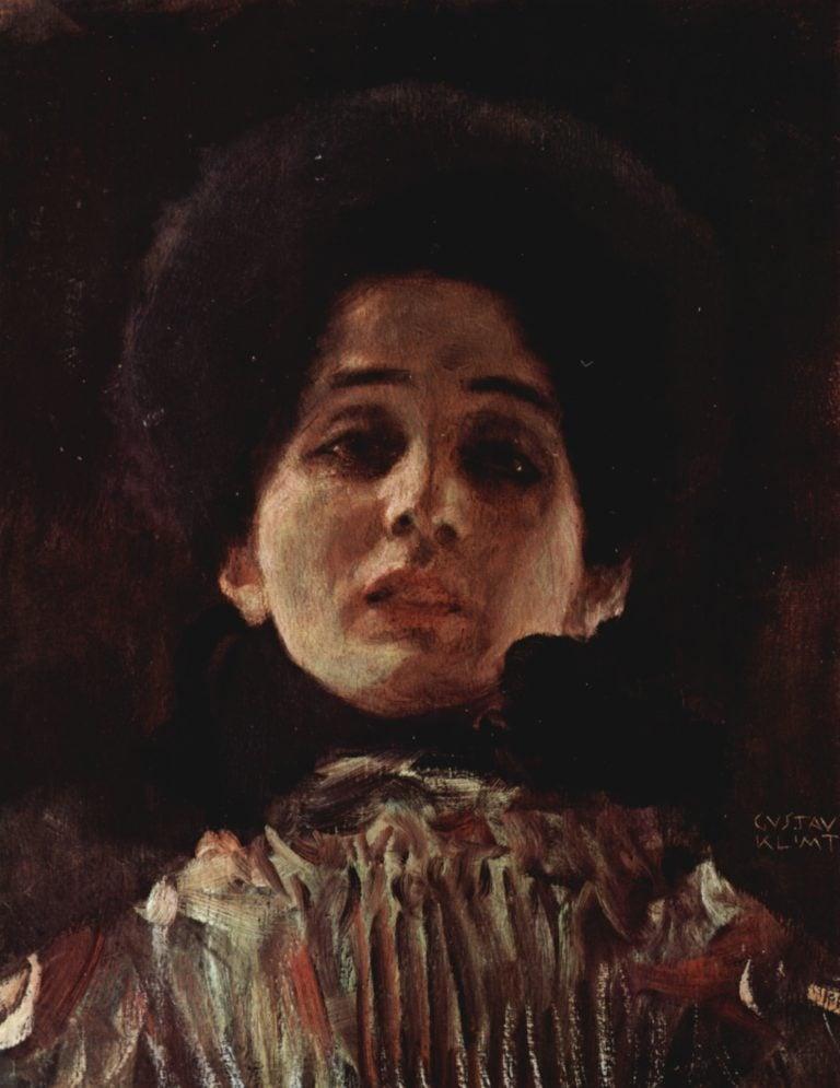 Portrait of a Lady 2 | Gustav Klimt | oil painting
