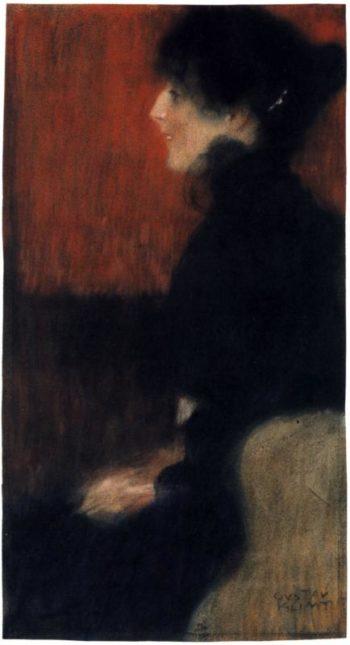 Portrait of a Lady   Gustav Klimt   oil painting