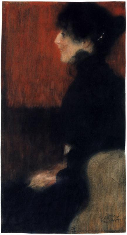 Portrait of a Lady | Gustav Klimt | oil painting