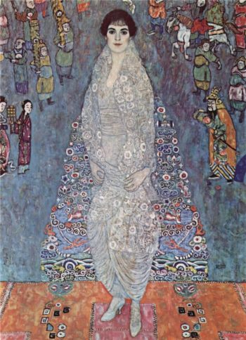 Portrait of Baroness Elisabeth Bachofen Echt   Gustav Klimt   oil painting