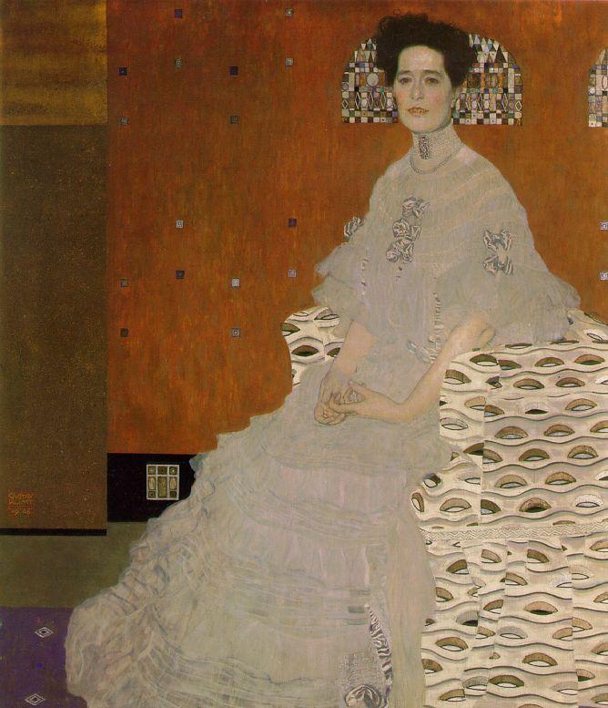 Portrait of Fritza Riedler | Gustav Klimt | oil painting