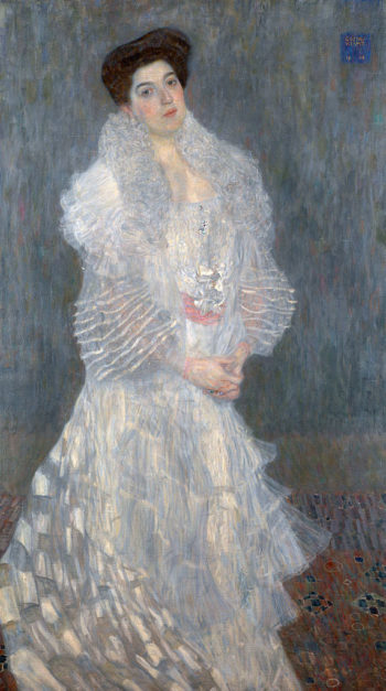 Portrait of Hermine Gallia | Gustav Klimt | oil painting