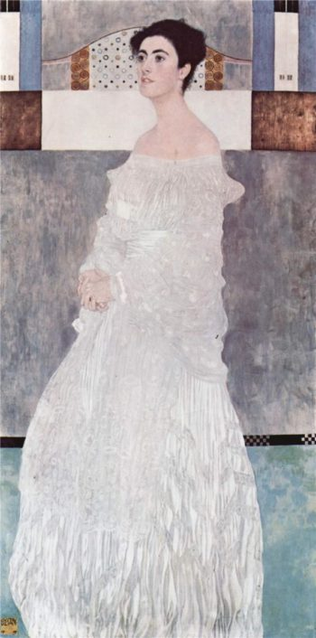 Portrait of Margaret Stonborough Wittgenstein | Gustav Klimt | oil painting