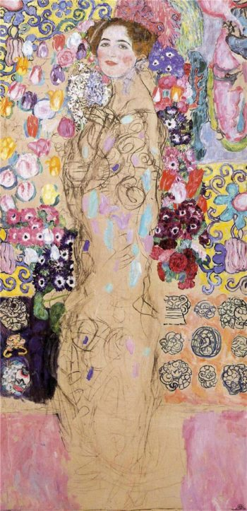 Portrait of Maria Munk | Gustav Klimt | oil painting