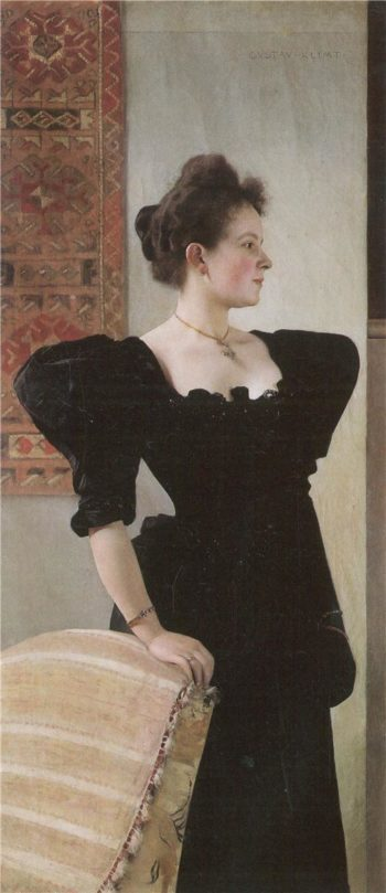 Portrait of Marie Breunig | Gustav Klimt | oil painting