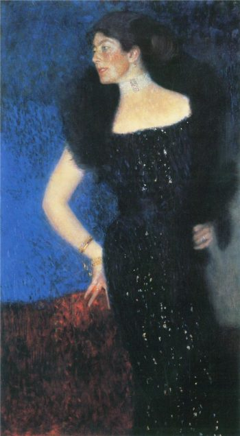 Portrait of Rose von Rosthorn Friedmann | Gustav Klimt | oil painting