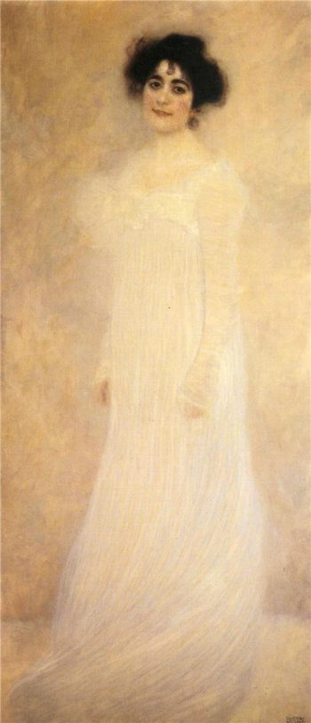 Portrait of Serena Lederer | Gustav Klimt | oil painting