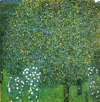 Roses under the Trees | Gustav Klimt | oil painting