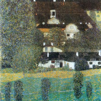 Schloss Kammer am Attersee II | Gustav Klimt | oil painting