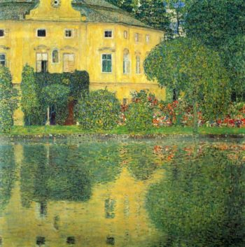 Schloss Kammer on the Attersee IV | Gustav Klimt | oil painting
