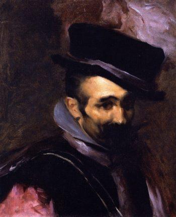 Buffoon Don Juan de Austria | John Singer Sargent | oil painting