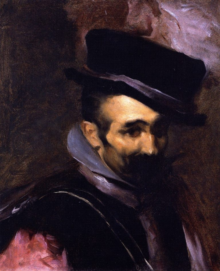Buffoon Don Juan de Austria | John Singer Sargent | oil painting