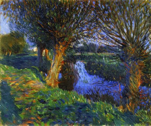 At Calcot | John Singer Sargent | oil painting
