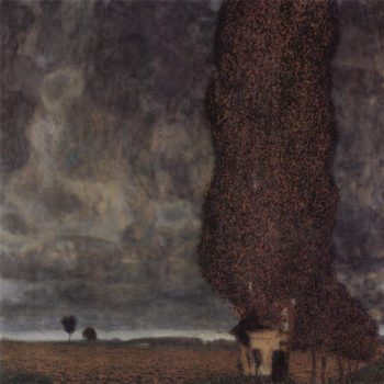 The Big Poplar II | Gustav Klimt | oil painting