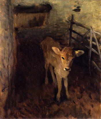 A Jersey Calf | John Singer Sargent | oil painting