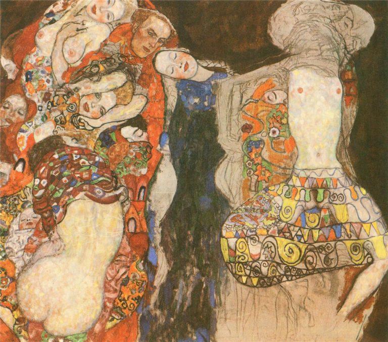 The Bride | Gustav Klimt | oil painting