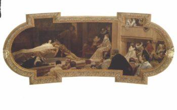 The Globe Theatre in London | Gustav Klimt | oil painting