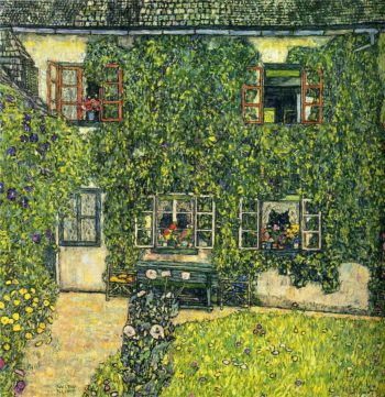 The House of Guardaboschi | Gustav Klimt | oil painting